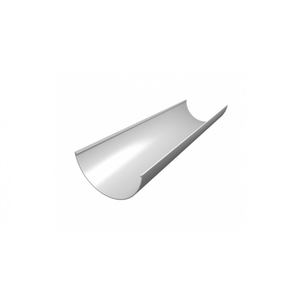 Желоб ПВХ  Grand Line Стандарт, 3м, белый