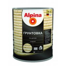 Грунтовка Средство защитное Alpina по дереву 0,75 л/0,6 кг