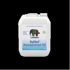 Грунтовка силикатная Сaparol Sylitol 111 Konzentrat Прозрачная (2,5 л)