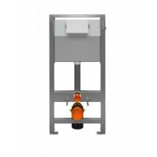 Инсталляция Cersanit AQUA 50 QF для унитаза пневматическая оцинкованная