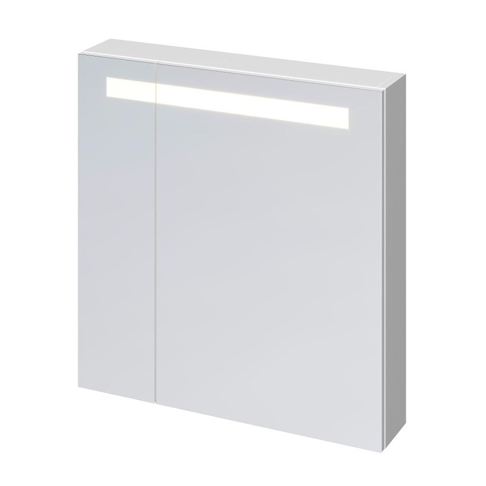 Зеркало-шкаф Cersanit MELAR 70 с подсветкой универсальная белый