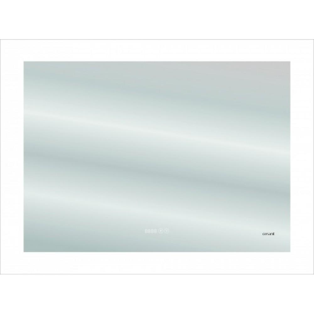Зеркало Cersanit LED DESIGN PRO 060 80 часы с подсветкой прямоугольное