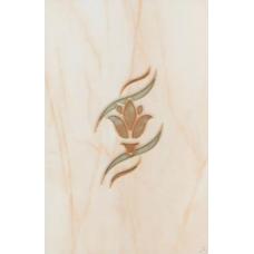 Вставка Belani Елена цветок оранжевый 200*300