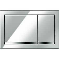 Кнопка Cersanit ENTER для LINK PRO/VECTOR/LINK/HI-TEC пластик хром глянцевый