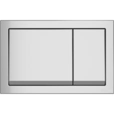 Кнопка Cersanit ENTER для LINK PRO/VECTOR/LINK/HI-TEC пластик хром матовый