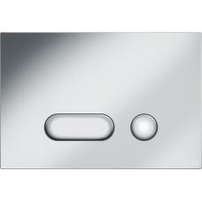Кнопка Cersanit INTERA для LINK PRO/VECTOR/LINK/HI-TEC пластик хром матовый