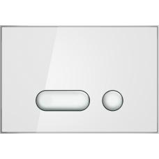 Кнопка Cersanit INTERA для LINK PRO/VECTOR/LINK/HI-TEC пластик белый