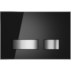 Кнопка Cersanit MOVI для LINK PRO/VECTOR/LINK/HI-TEC стекло черный