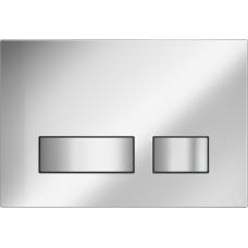 Кнопка Cersanit MOVI для LINK PRO/VECTOR/LINK/HI-TEC пластик хром матовый