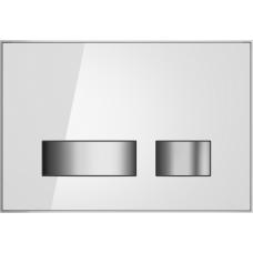 Кнопка Cersanit MOVI для LINK PRO/VECTOR/LINK/HI-TEC стекло белый