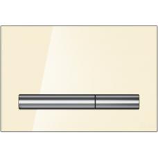 Кнопка Cersanit PILOT для LINK PRO/VECTOR/LINK/HI-TEC стекло бежевый