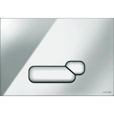 Кнопка Cersanit ACTIS для LINK PRO/VECTOR/LINK/HI-TEC пластик хром глянцевый