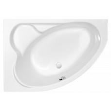 Ванна асимметричная Cersanit Kaliope 153x100 левая/правая белый