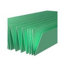 Подложка-гармошка 1050×250×3 зеленая (5.25м2/уп), под лам. полы и паркетную доску