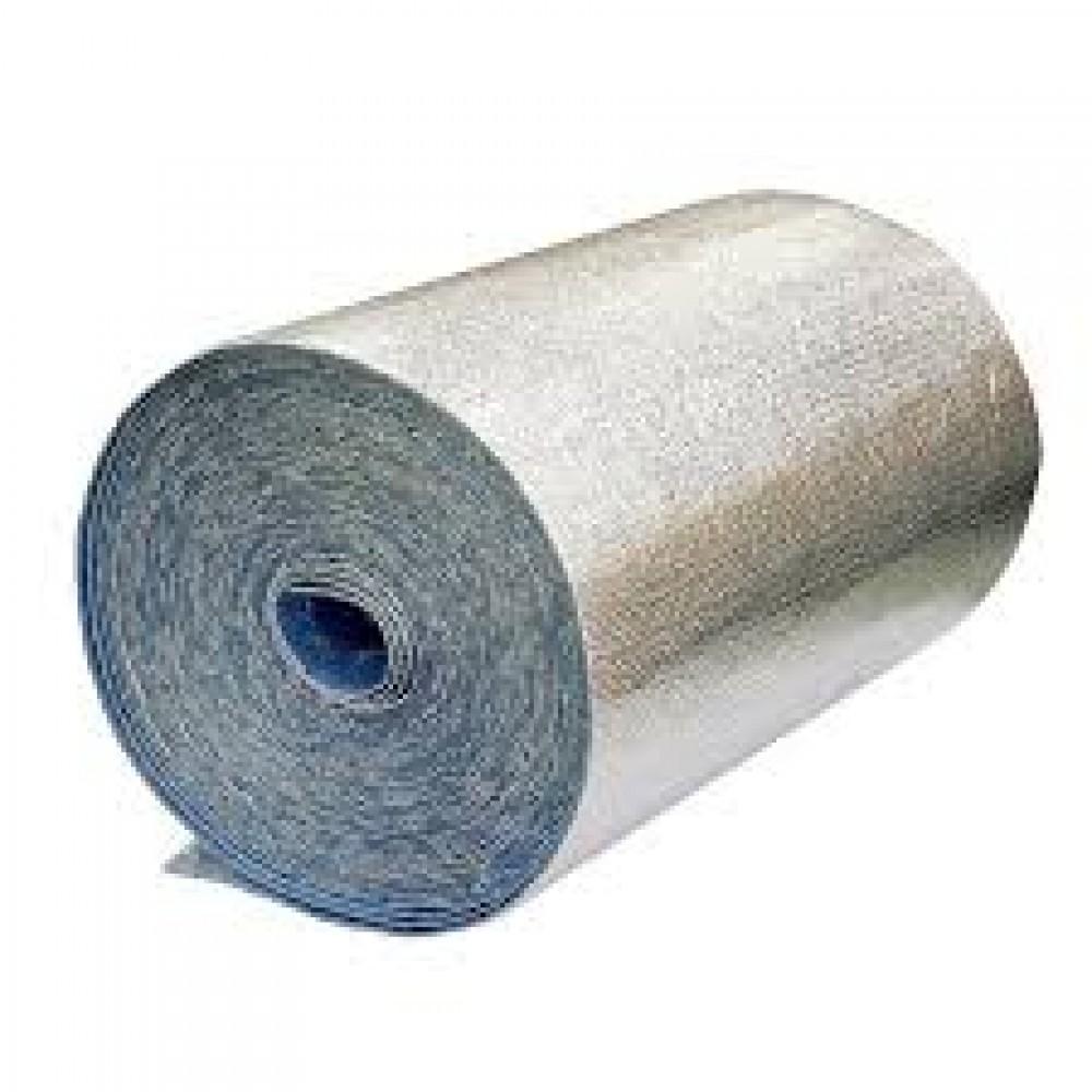 Подложка Порилекс НПЭ 3мм, 1200*25 фольгированная для стен  (30кв.м/рулон)