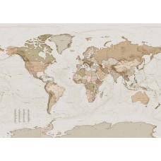 """Обои Komar X7-1015 """"Earth Map"""""""