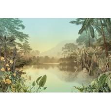 "Обои Komar HX8-049 ""Lac Tropical"""