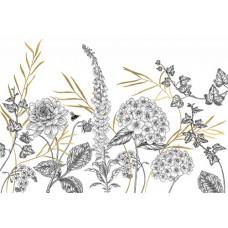 """Обои Komar RSX8-054 """"Bumble Bee"""""""