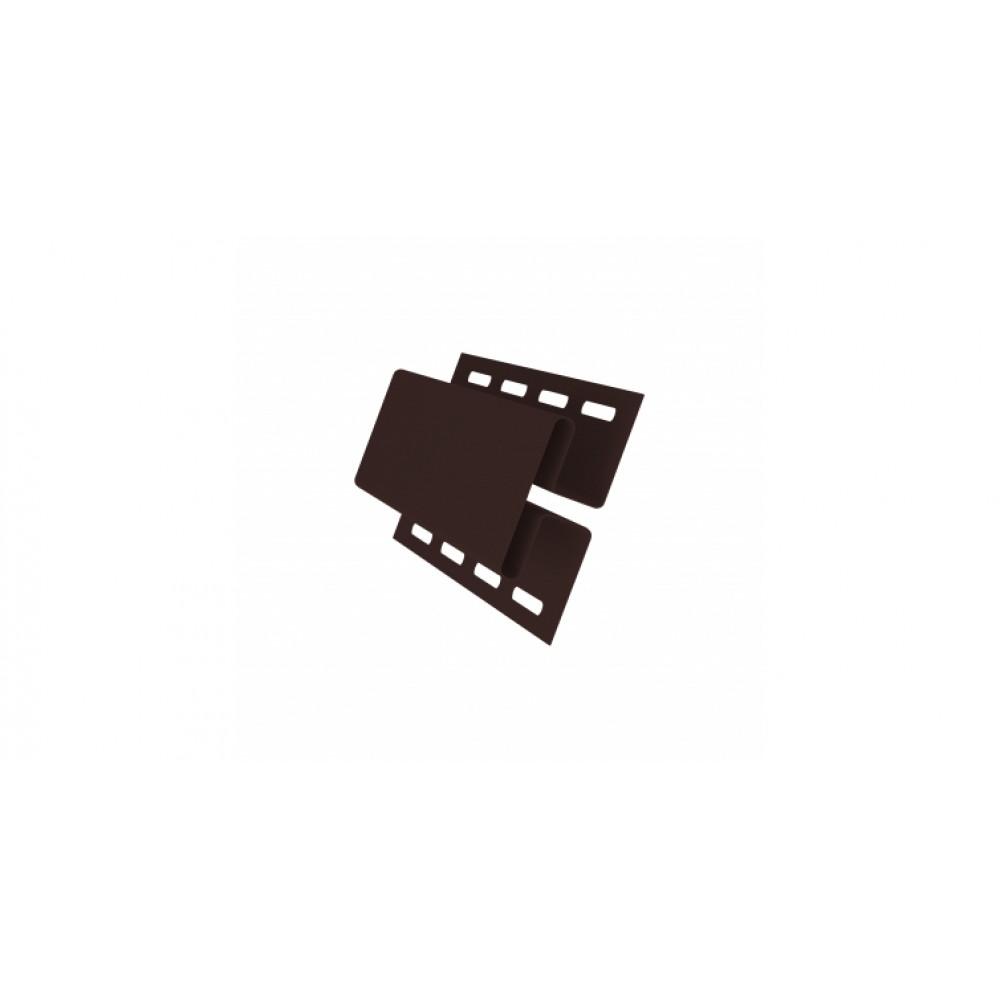 Профиль H соединительный 3,00 GL темный дуб