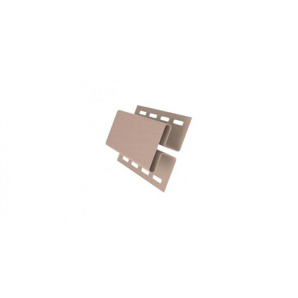 Профиль H соединительный 3,00 GL персиковый
