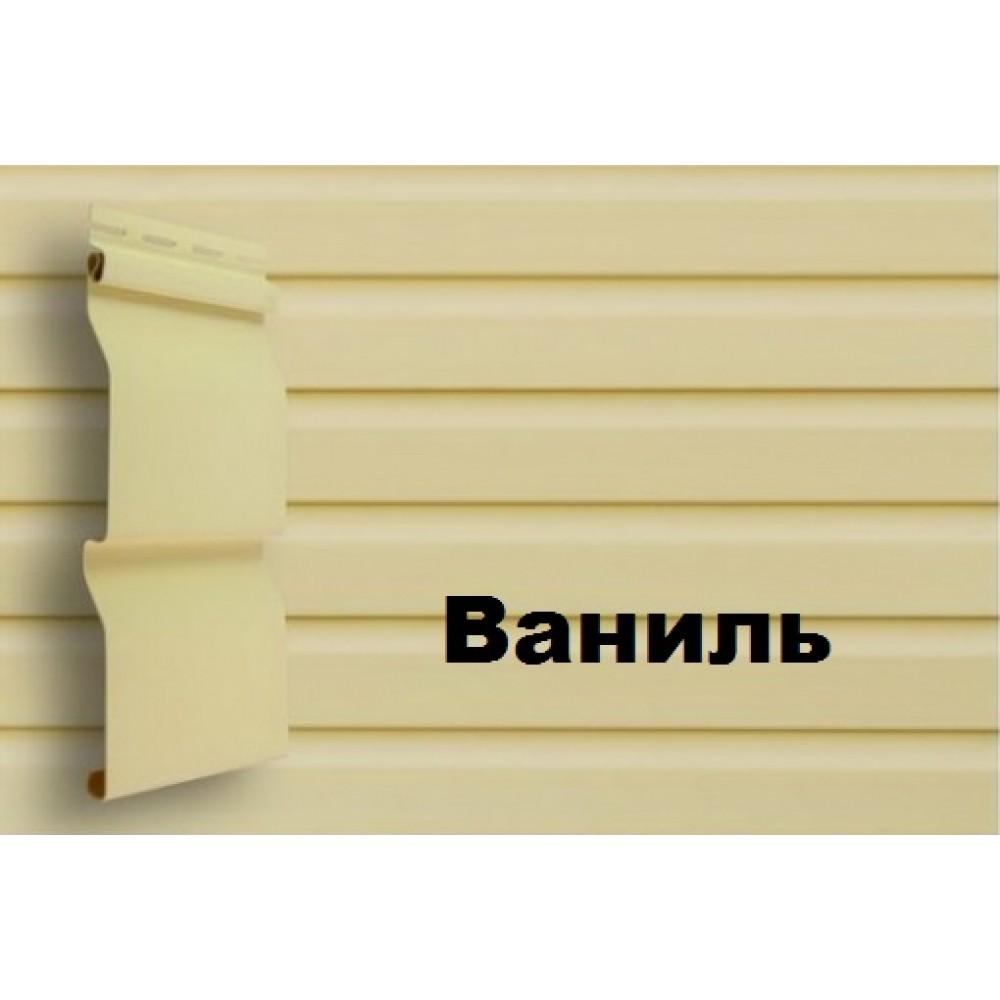 Сайдинг D3,7 - «Корабельный брус лайт» ваниль