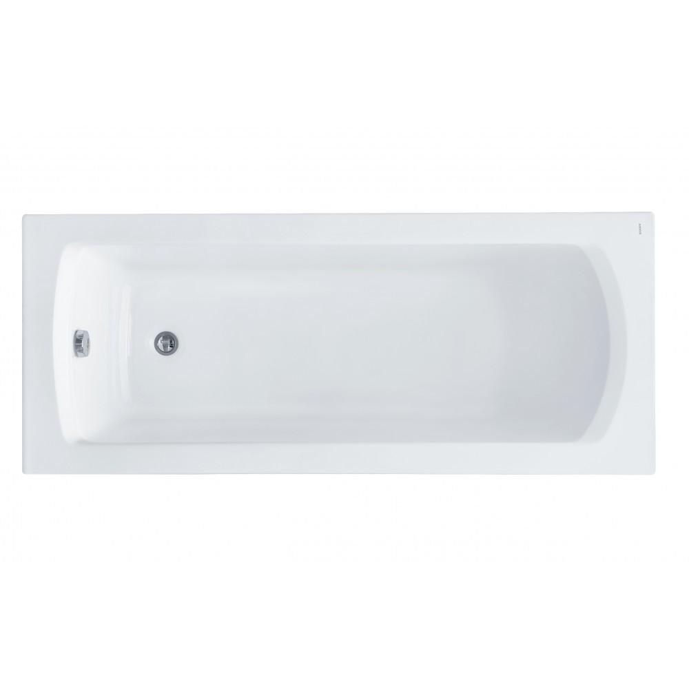 """Ванна акриловая прямоугольная """"Монако"""" 160х70 белая"""