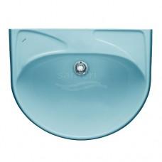 Умывальник Santeri Вест с переливом б/о голубой 131118S0601B0